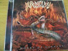 KRISIUN WORKS OF CARNAGE  CD  MINT-
