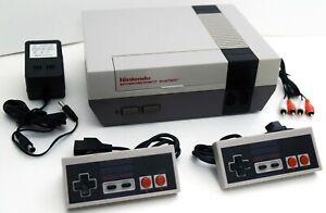 2-CONTROLLER-Nintendo-Entertainment-System-NES-001-Video-Game-Console-Bundle-Set