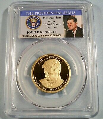2009 S $1 John Tyler Dollar PCGS PR70DCAM
