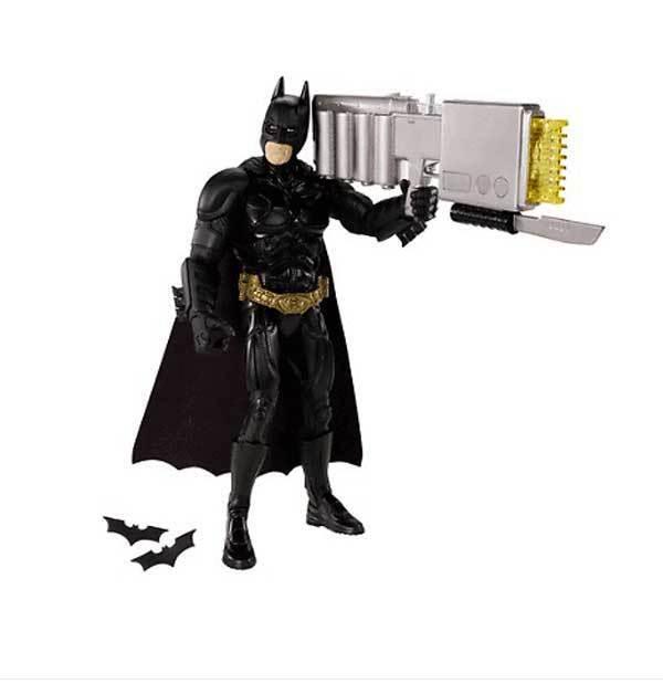 DC Comics BATMAN Dark Knight Rises Rises Rises Large 10  figure w EMP Light up Weapon COOL  8882dc