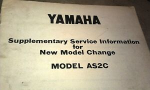 1969-YAMAHA-AS2C-Motorcycle-Factory-Service-Info-Manual