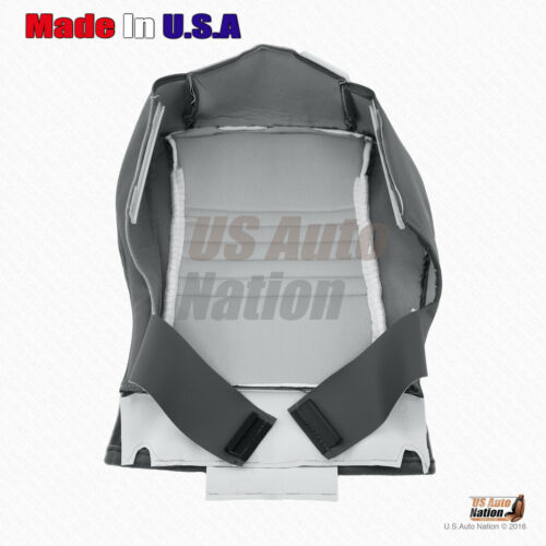 For 2008 Dodge Ram 1500 Regular Cab Driver Bottom Cloth Replacement Cover Gray