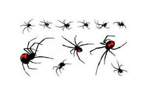 3d Rote Spinne Tattoos Rote Spinne Tattoos