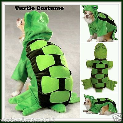 Zack & Zoey Turtle Costume for Dogs Size Large