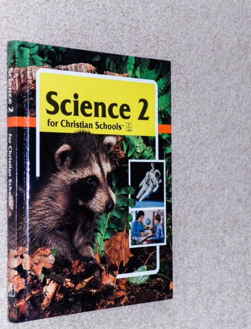 BJU Bob Jones (2nd grade) SCIENCE 2 - Student Text .. 2nd Edition! SAVE!