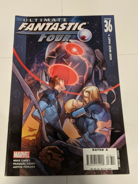 Ultimate Fantastic Four #36 January 2007 Marvel Comics Carey Ferry