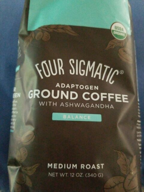 Four Sigmatic Adaptogen Ground Coffee Medium Roast Balance | eBay