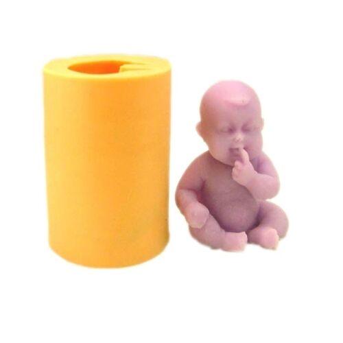 3d Bebé Artesanales Arte Molde De Silicona Jabón hecho a mano Moldes Decoración De Pasteles De Fondant Molde