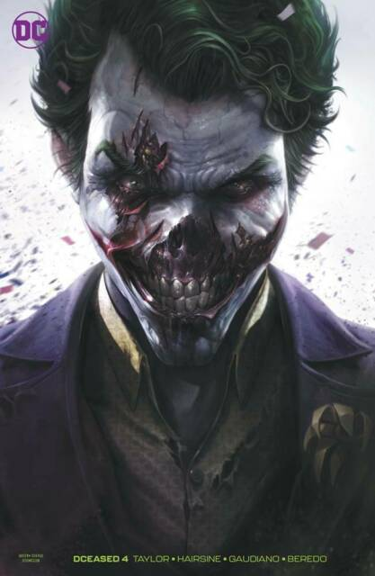 DCeased #4 Mattina Card Stock Joker Variant DC Comic 1st Print 2019 NM