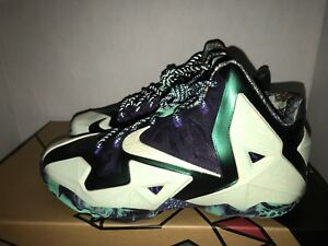Nike LeBron XI Gator King Nola All-star Gumbo Men s Size 8 10.5 11 ... 1dcf95877