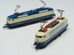 Marklin-Z-scale-TEE-Express-Double-pack-class-120-1-amp-103-electric-Locomotive
