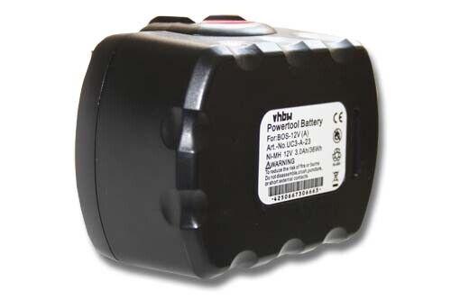 BATTERIE d/'outil 12V 3000mAh noir rouge pour Signode 12V; Spit HDI 220