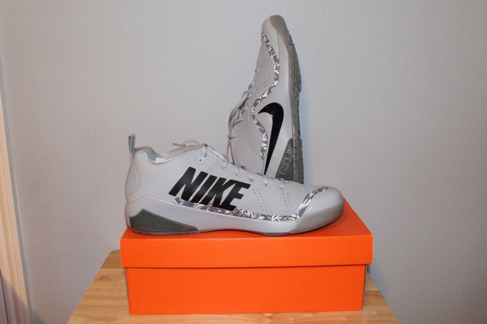 Nike Force Zoom Trout 4 Turf Turf Turf Men's Size 11.5 Wolf Grey Baseball shoes 0ba3de