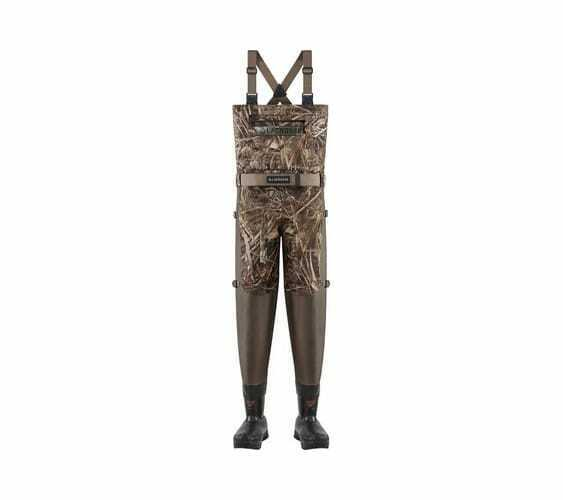 LaCrosse Men's Alpha Swampfox Drop Top Wader 1000G Realtree Max-5 Waterproof