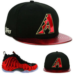 the latest 848b3 ebdb4 Image is loading New-Era-Arizona-Diamondbacks-Snapback-Hat-Match-Nike-