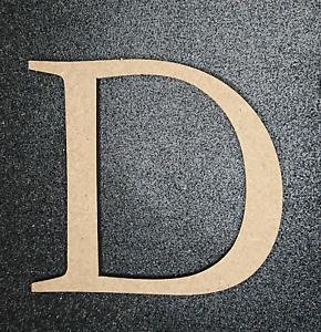 Craft Alphabet Letters Wooden MDF LETTER D Buy 3 Get 1 Free 10cm x 6mm