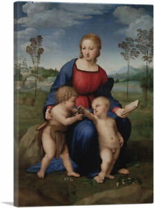 ARTCANVAS Madonna with the Goldfinch 1506 Canvas Art Print by Raphael