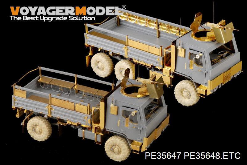Voyager 1 35 Modern US M1083 FMTV Armor CaB Basic (For Trumpeter 01008) PE35648