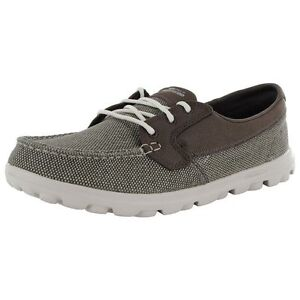 New-Women-039-s-Skechers-On-The-Go-STRAY-Lace-Up-Boat-Fashion-Shoe-Brown-13723-A39