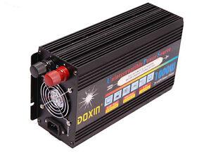 1000W-Watts-2000W-peak-12v-to-110v-Power-Inverter-Charger-amp-UPS-For-Solar-Wind