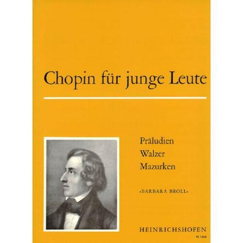 Noten für Klavier 1464-9790204414642 Chopin für junge Leute Band 1