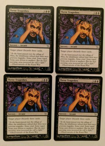 Três Tragédias x4 Mtg Magic The Gathering K/&k
