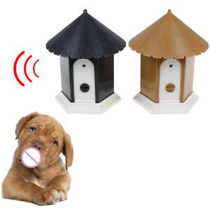 Outdoor-ultrasonic-anti-barking-control-device-dog-pet-stop-barking-trainin