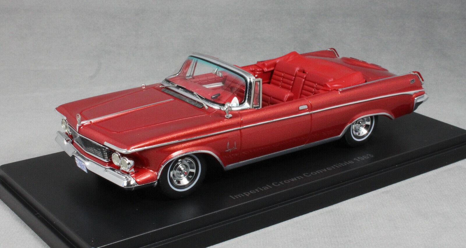 Neo Modells Imperial Crown ConGrünible in Dark rot Metallic 1963 44845 1 43 NEW