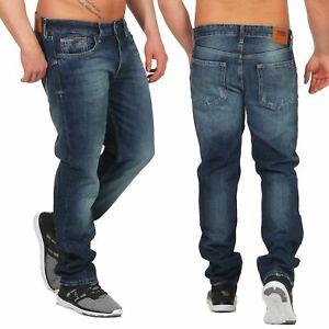 Tommy-Jeans-Original-Ryan-Jeans-Homme-Coupe-Droite-OMBLRG-nouveau-bleu