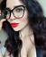 FEARLESS-Women-Eyeglasses-CAT-EYE-Clear-Lens-Shadz-Metal-ARMS-Glasses-Oversized thumbnail 4