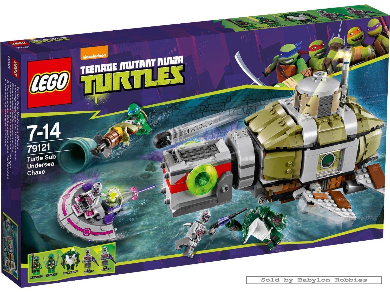 Lego Ninja Turtles - Turtle Sub Undersea Chase (by Lego) 79121