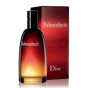Fahrenheit De Christian Dior Colonia Perfume Edt 100 Ml Hombre