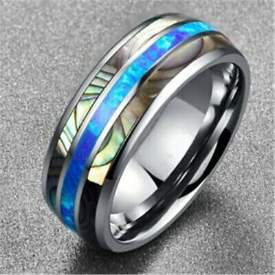 Titanium 8mm Textured Band