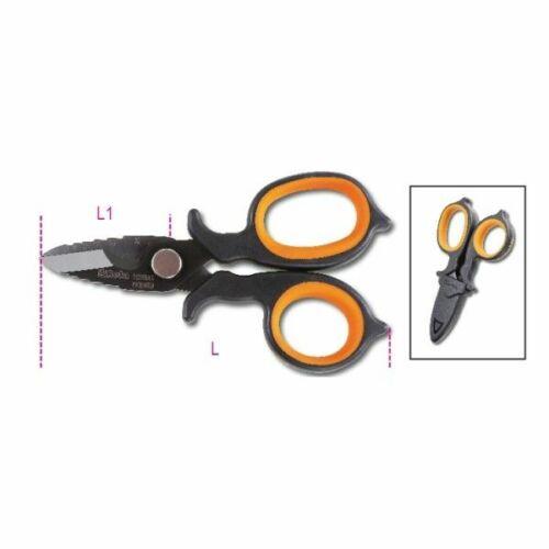 Beta Tools 1128BAX Double-Acting Electrians Scissors DLC-Coated011280088