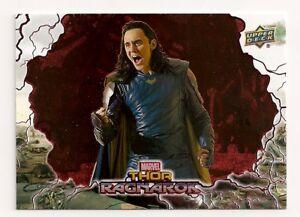 2018 Upper Deck Marvel Avengers Infinity War Base Card Tier 1  #13