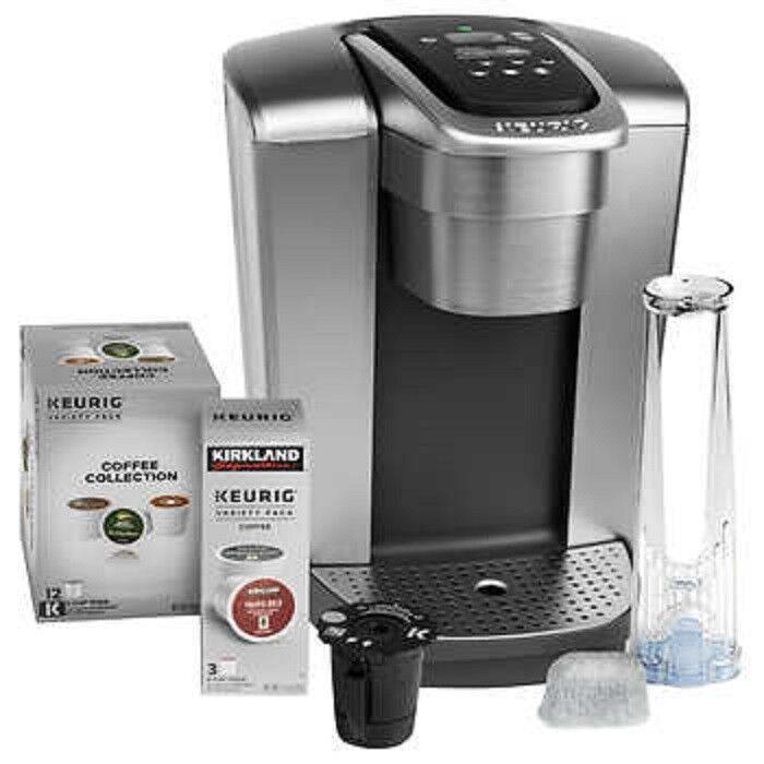 Keurig K-Elite C Single Serve Coffee Maker,15 KCup Pods My KCup Reusable  3 off