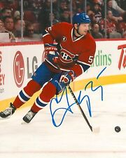 SERGEI GONCHAR signed MONTREAL CANADIENS 8X10 PHOTO with COA A