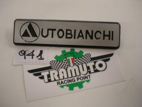 TRAMUTO SIGLA FREGIO POSTERIORE AUTOBIANCHI A112