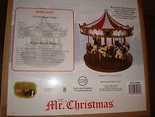 MR. CHRISTMAS GRAND CAROUSAL PLAYS 30 SONGS STORE DISPLAY