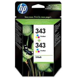 ORIGINALE-OEM-HP-Hewlett-Packard-Cartuccia-di-Inchiostro-a-colori-HP-343-CB332EE