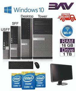 FAST-Dell-Computer-Desktop-PC-BUNDLE-INTEL-i3-i5-i7-500GB-2TB-HDD-SSD-8GB-16GB
