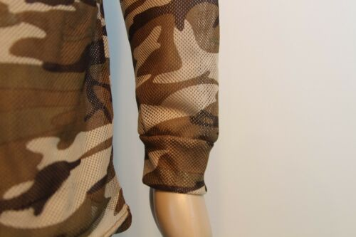LONG SLEEVE A-TACS  WOODLAND CAMOUFLAGE T-SHIRT TACTICAL Army Military Top