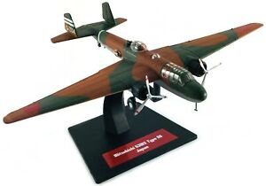 Mitsubishi-G3M2-Bomber-Japan-WW2-Metall-1-144-Yakair-Avion-Aircraft