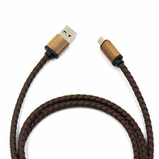 CBL-1063 2 in 1 Cable Micro USB-Android+Lightning–apple,L=1M,White,Black,Brown
