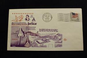 Space-Cover-1980-Macchina-Annullo-Postale-Jet-Star-Final-Msbls-Taratura-Serie