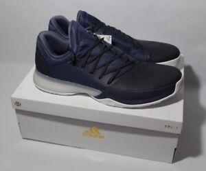 aba941b92129 Adidas James Harden Vol. 1 Basketball shoe Legend Ink Blue White Sz ...