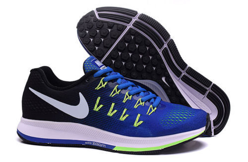 huge selection of 6fef8 bbb2f Nike Air Zoom Pegasus 33 Mens Running Training Shoes Blue Green 831352 400