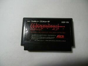 Game-soft-Famicom-Games-FC-034-Wizardry-034-ASCII-JAPAN