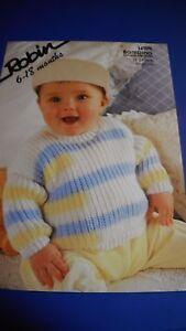 Robin baby Sweater Knitting Pattern 14709 - Hawick, United Kingdom - Robin baby Sweater Knitting Pattern 14709 - Hawick, United Kingdom