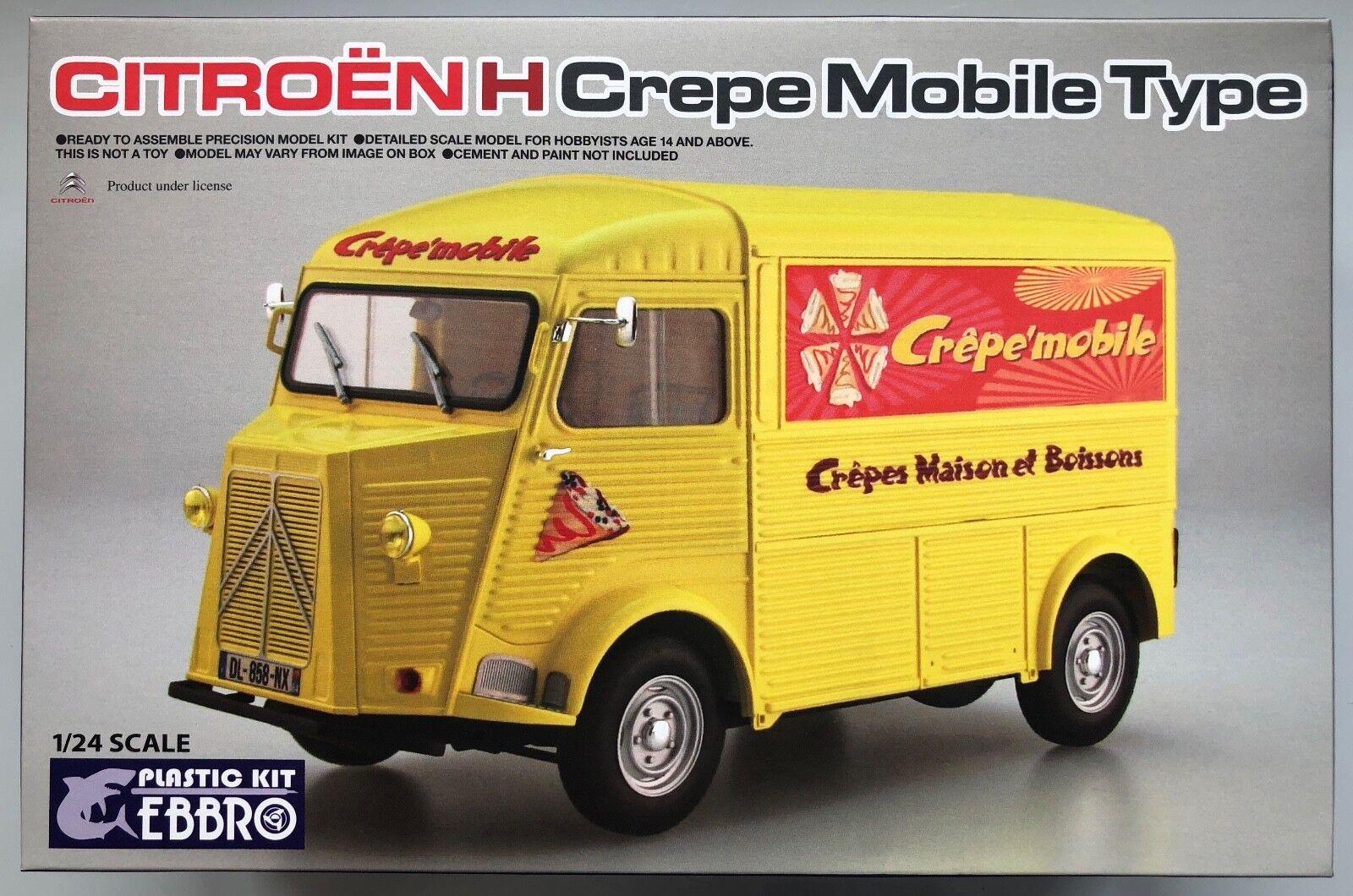 Ebbro E25010 Citroen H Crepe Mobile Type 1 24 Model Kit NIB